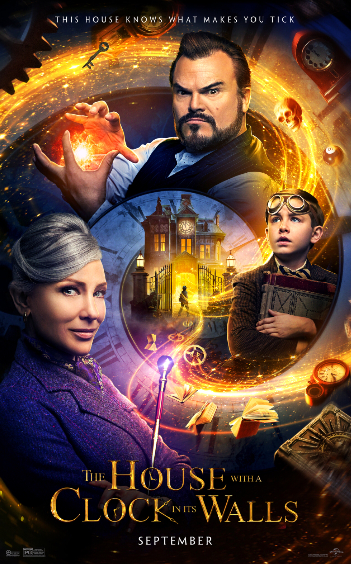 Movie poster for The House with a Clock in Its Walls