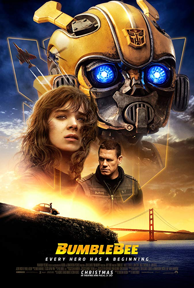 Movie poster for Bumblebee