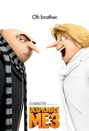 Movie poster for Despicable Me 3