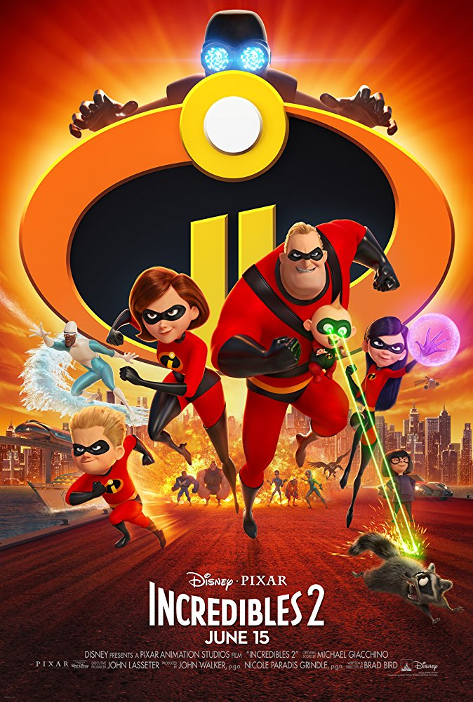 Movie poster for Incredibles 2