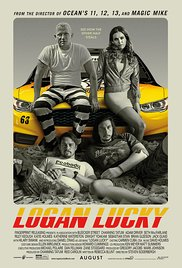 Movie poster for Logan Lucky
