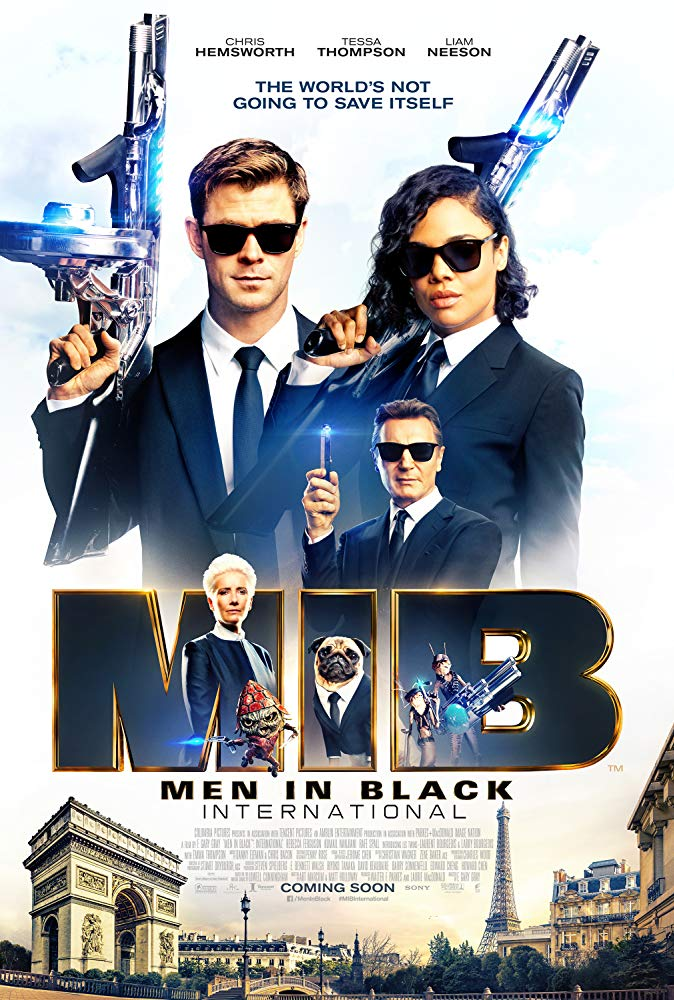Movie poster for MIB International