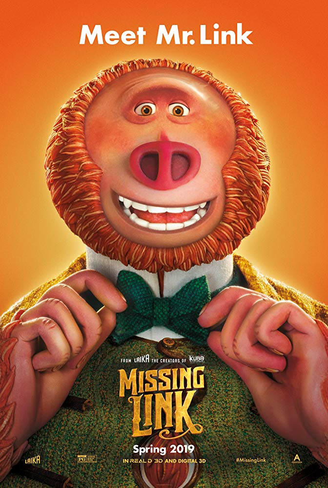 Movie poster for Missing Link