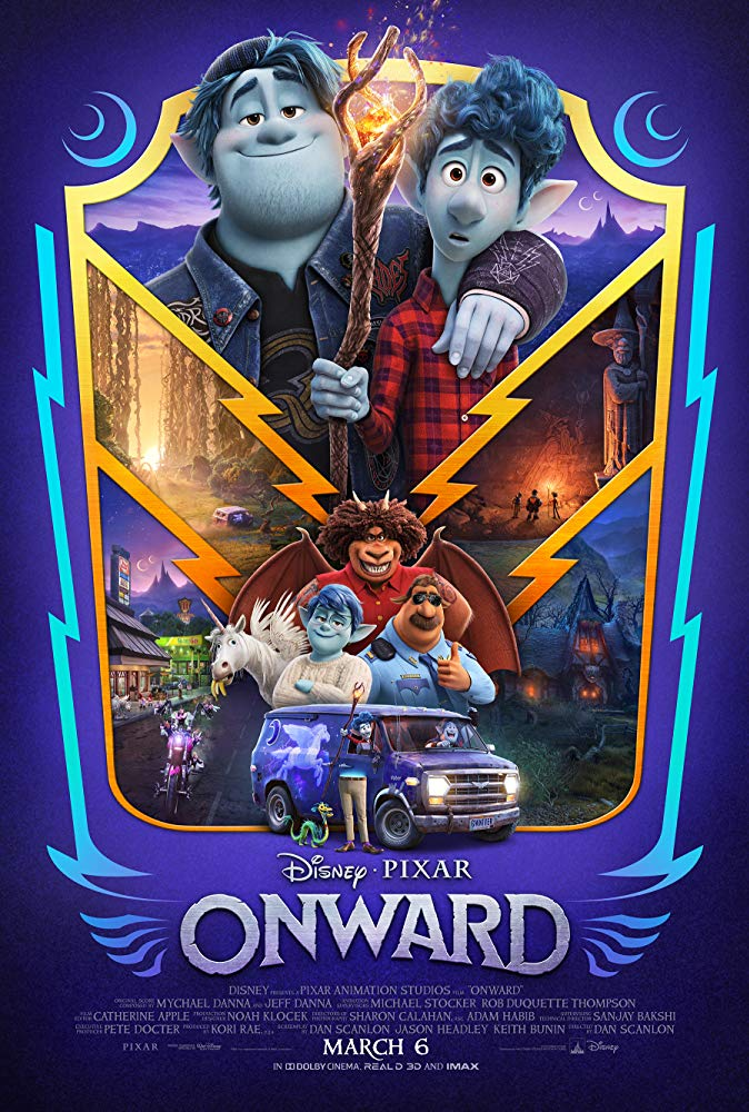 Movie poster for Onward