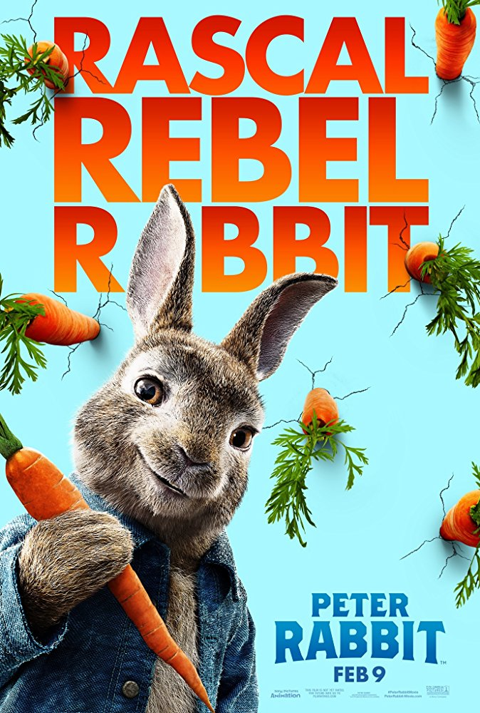 Movie poster for Peter Rabbit