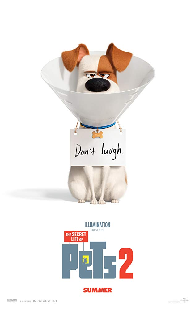 Movie poster for Secret Life of Pets 2