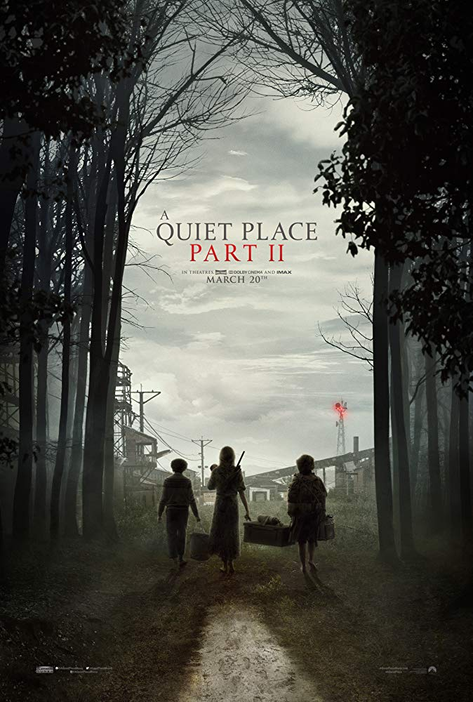 Movie poster for A Quiet Place 2