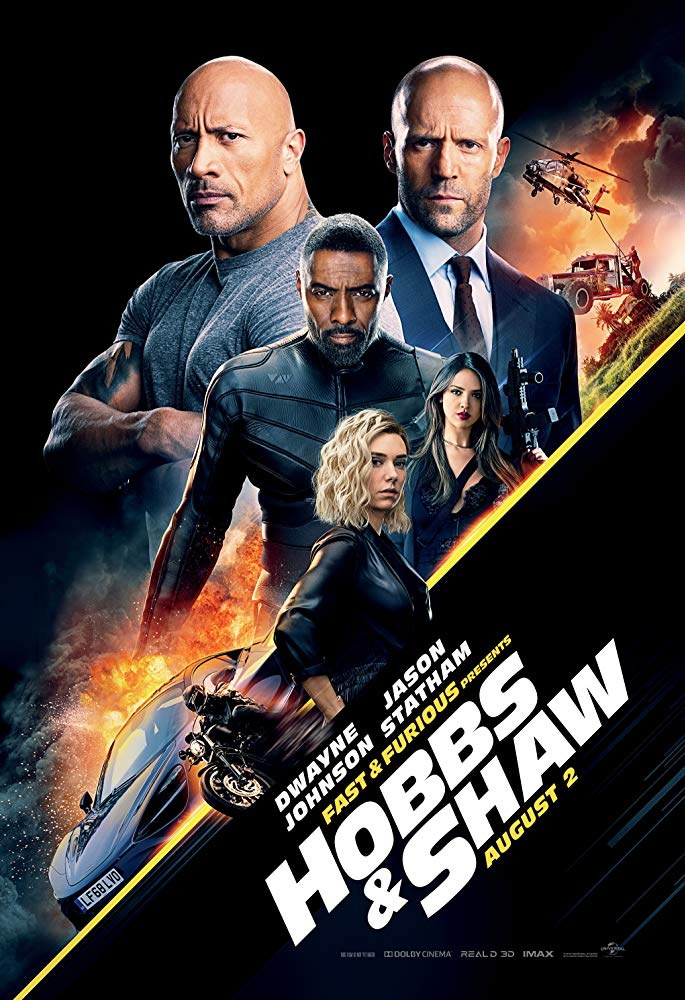 Movie poster for Hobbs and Shaw